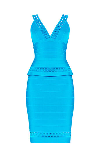 Aline Ottoman Cutout Dress