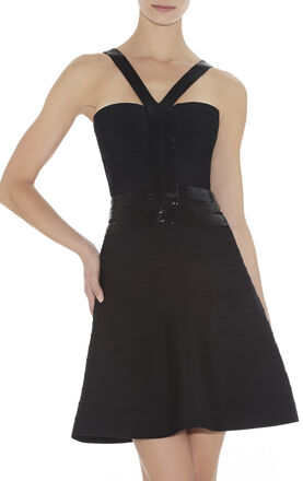 Portia Beaded-Strapping Dress