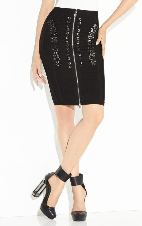 Mikayla Garter Detail Skirt