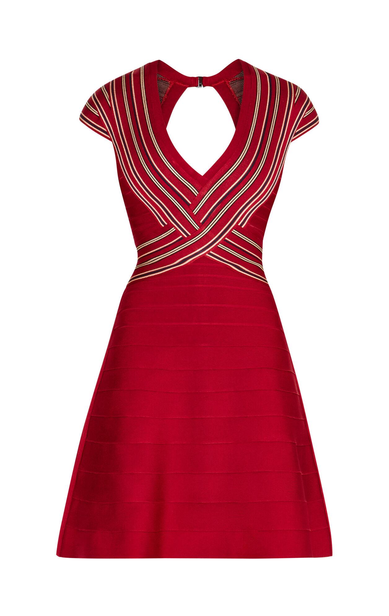 Chloe Engineered Eyelet Dress