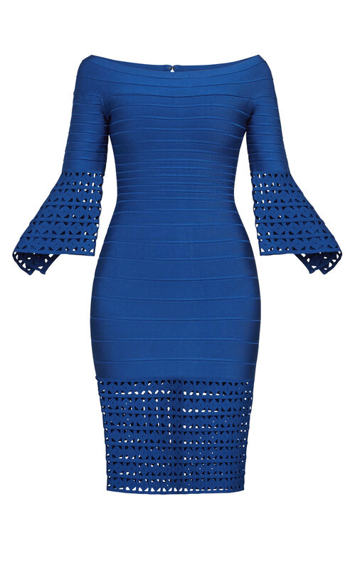 Roselynn Cutout Off-Shoulder Dress