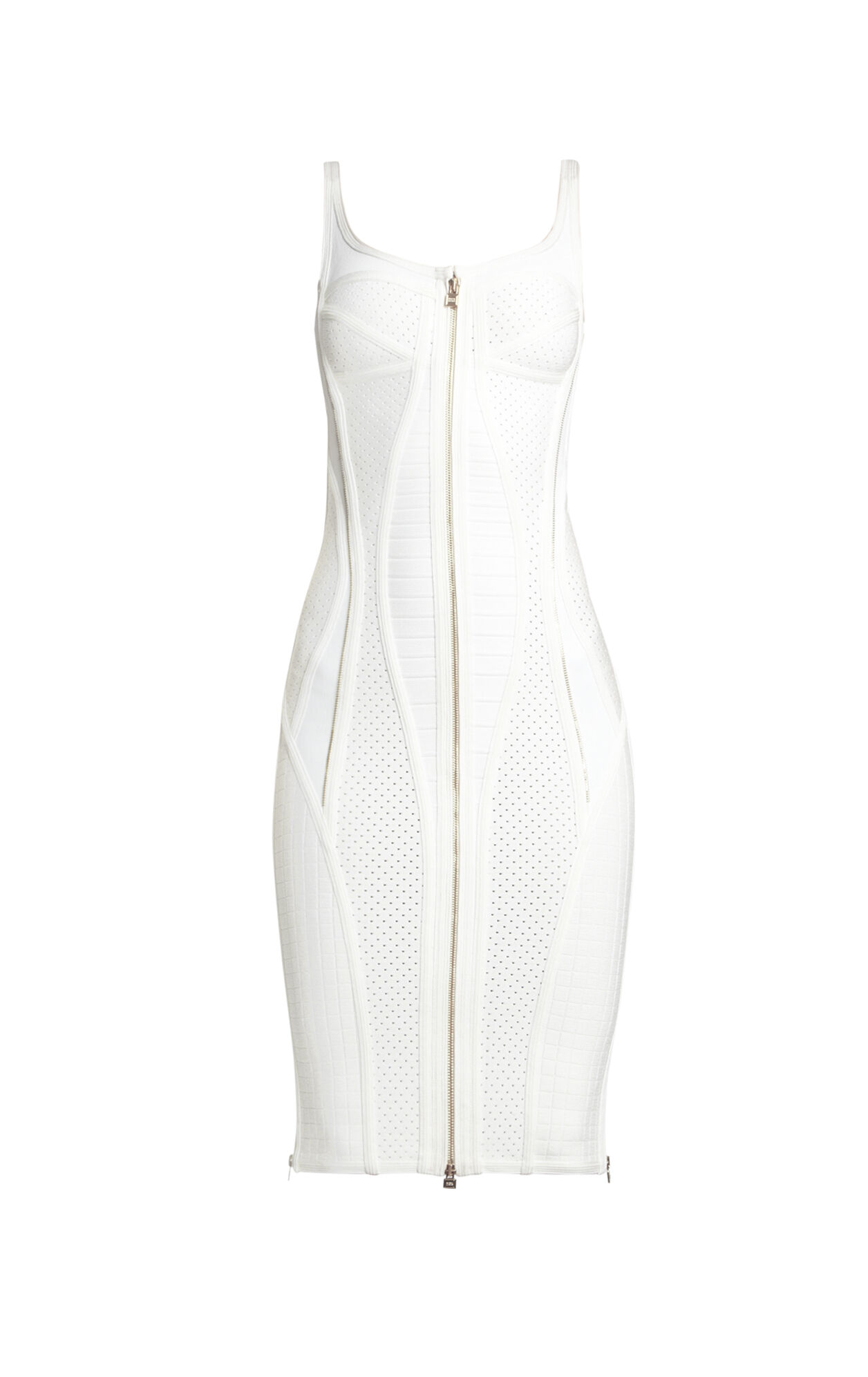 Veroni Zipper-Detailed Dress
