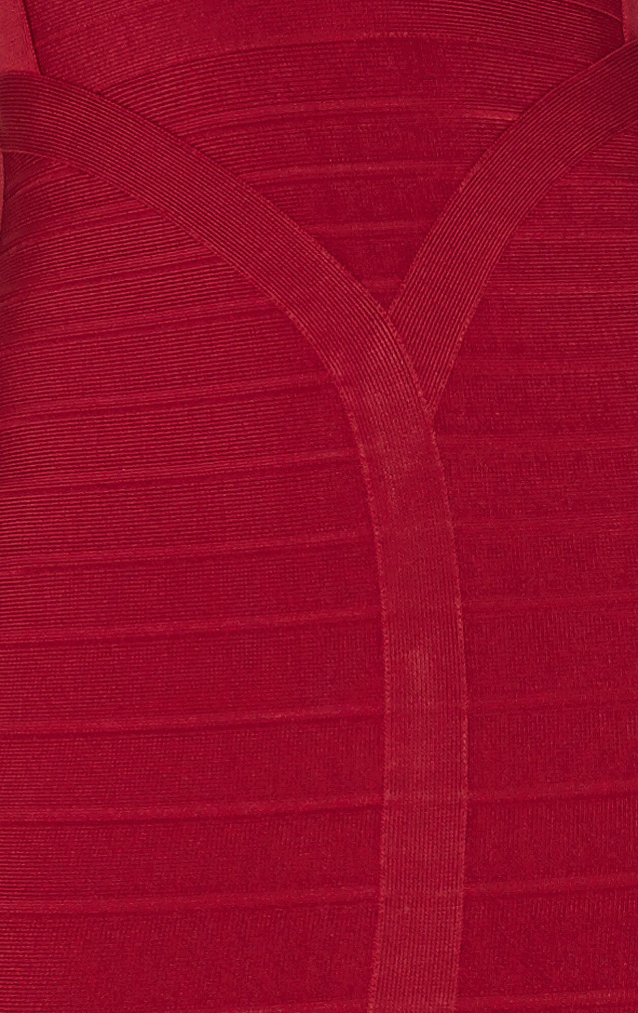 Lexi Signature Sweetheart-Neckline Bandage Dress