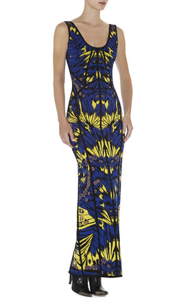 Ginta Butterfly Jacquard Dress