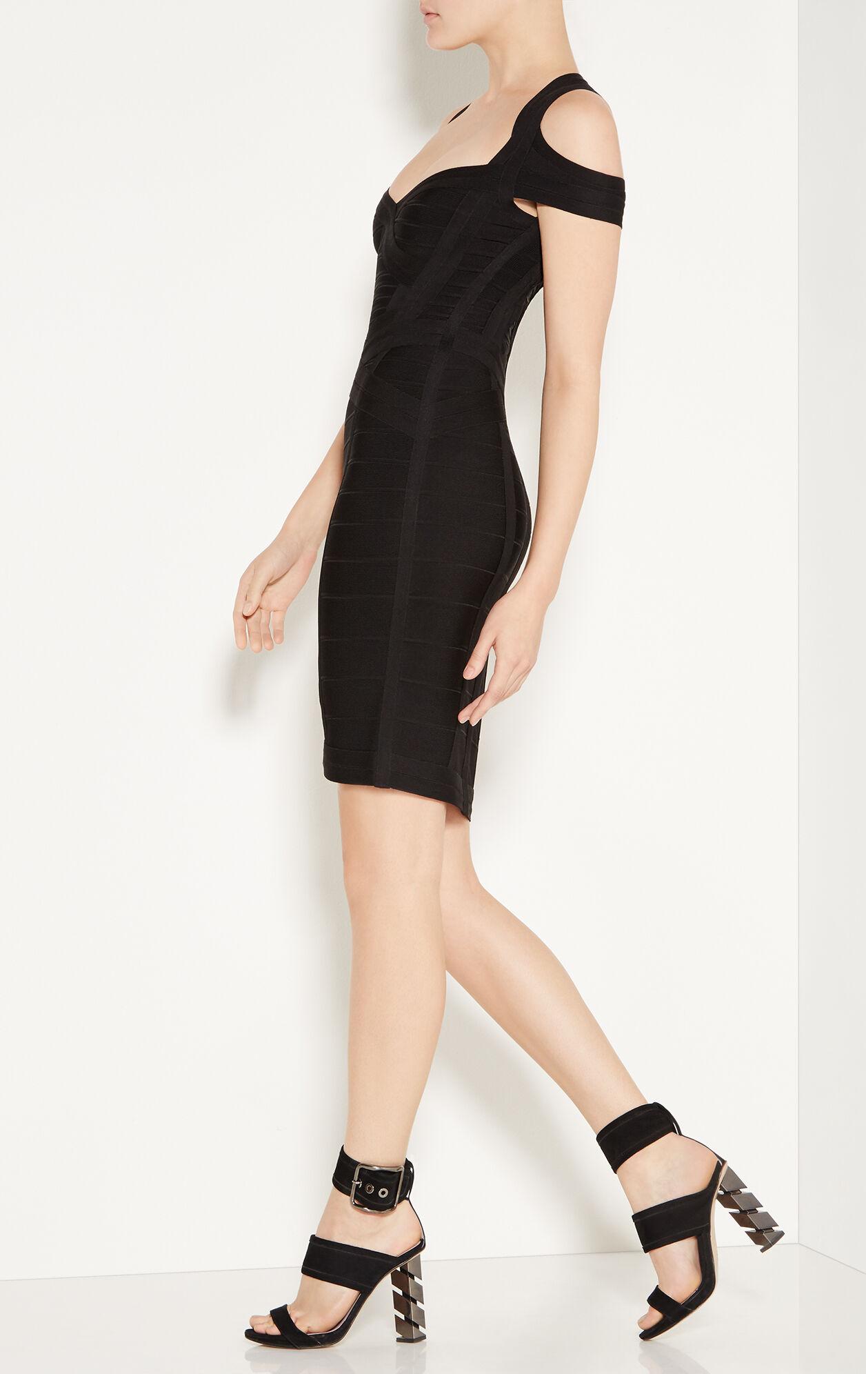 Katlin Essential Cold-Shoulder Bandage Dress