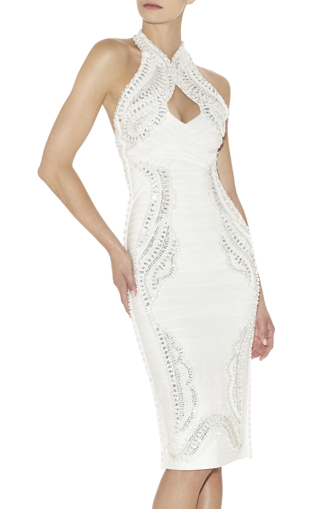 Maja Bead-Encrusted Dress