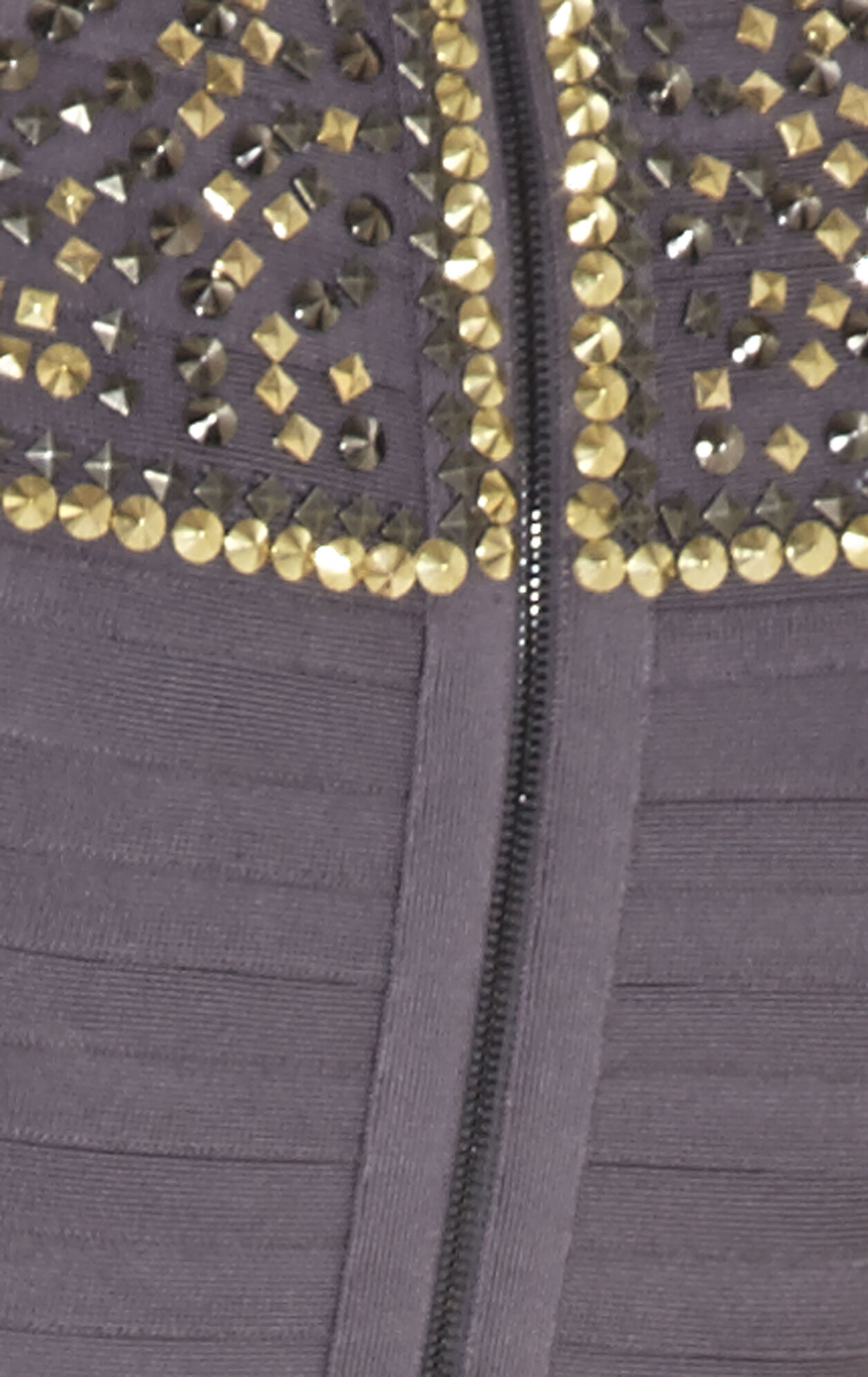 Camira Studded-Detail Dress