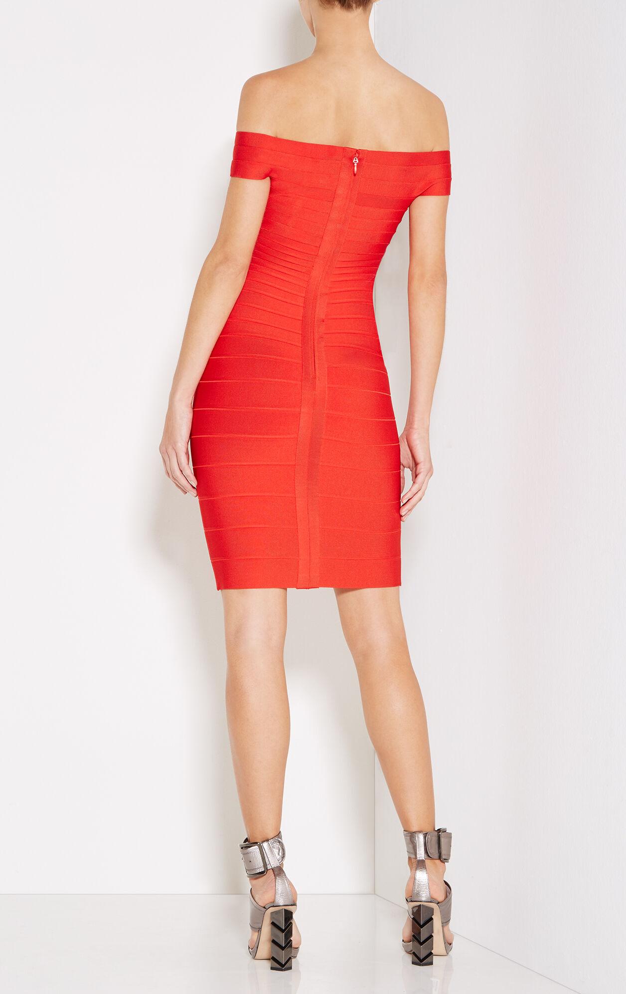 Kaelyn Off-Shoulder Bandage Dress