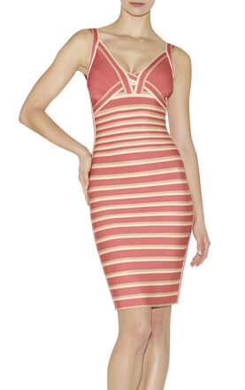 Nicole Multi Colorblocked Dress