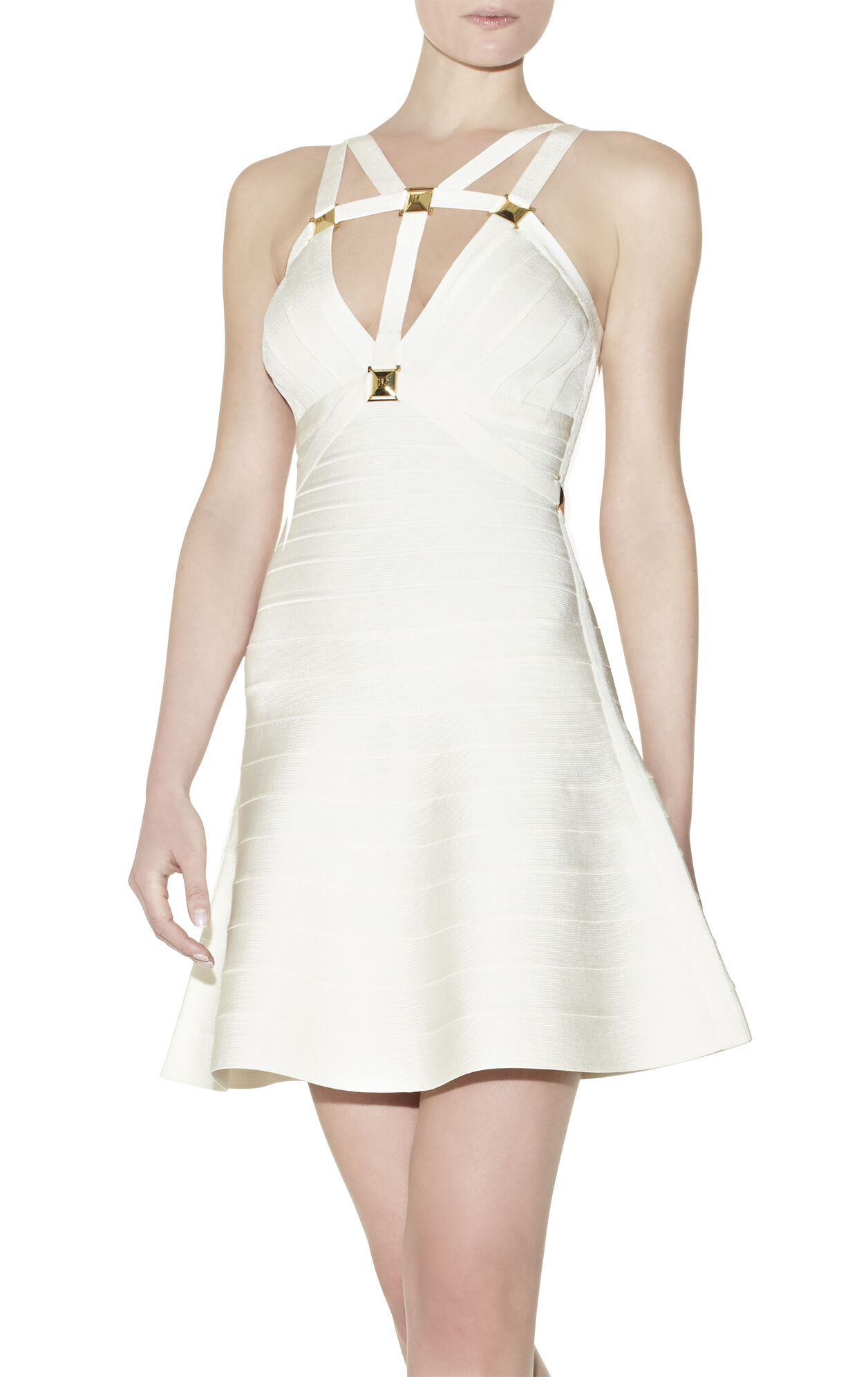 Llima Metal-Hardware Detailed Dress