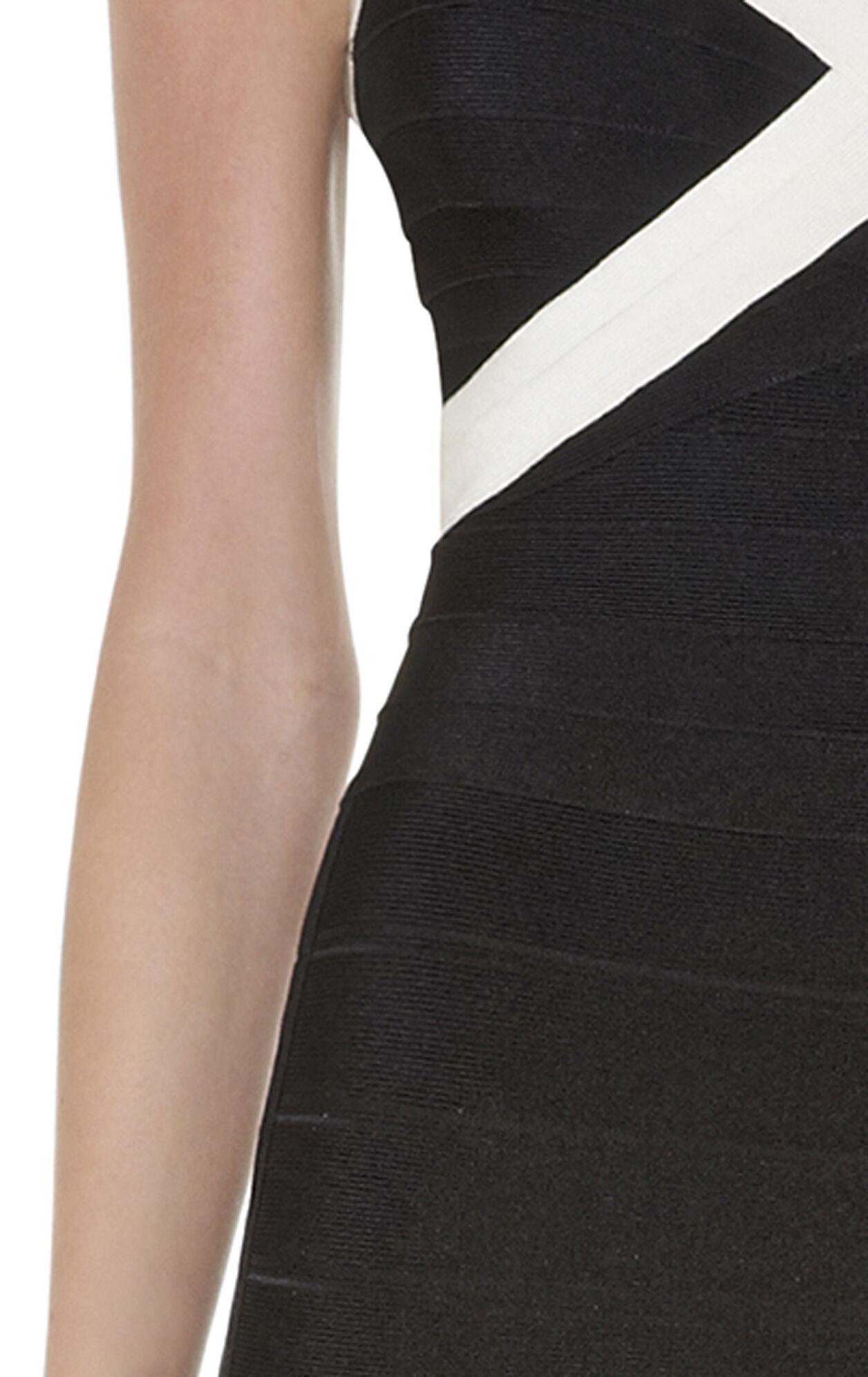 Umeki Colorblocked Bandage Dress