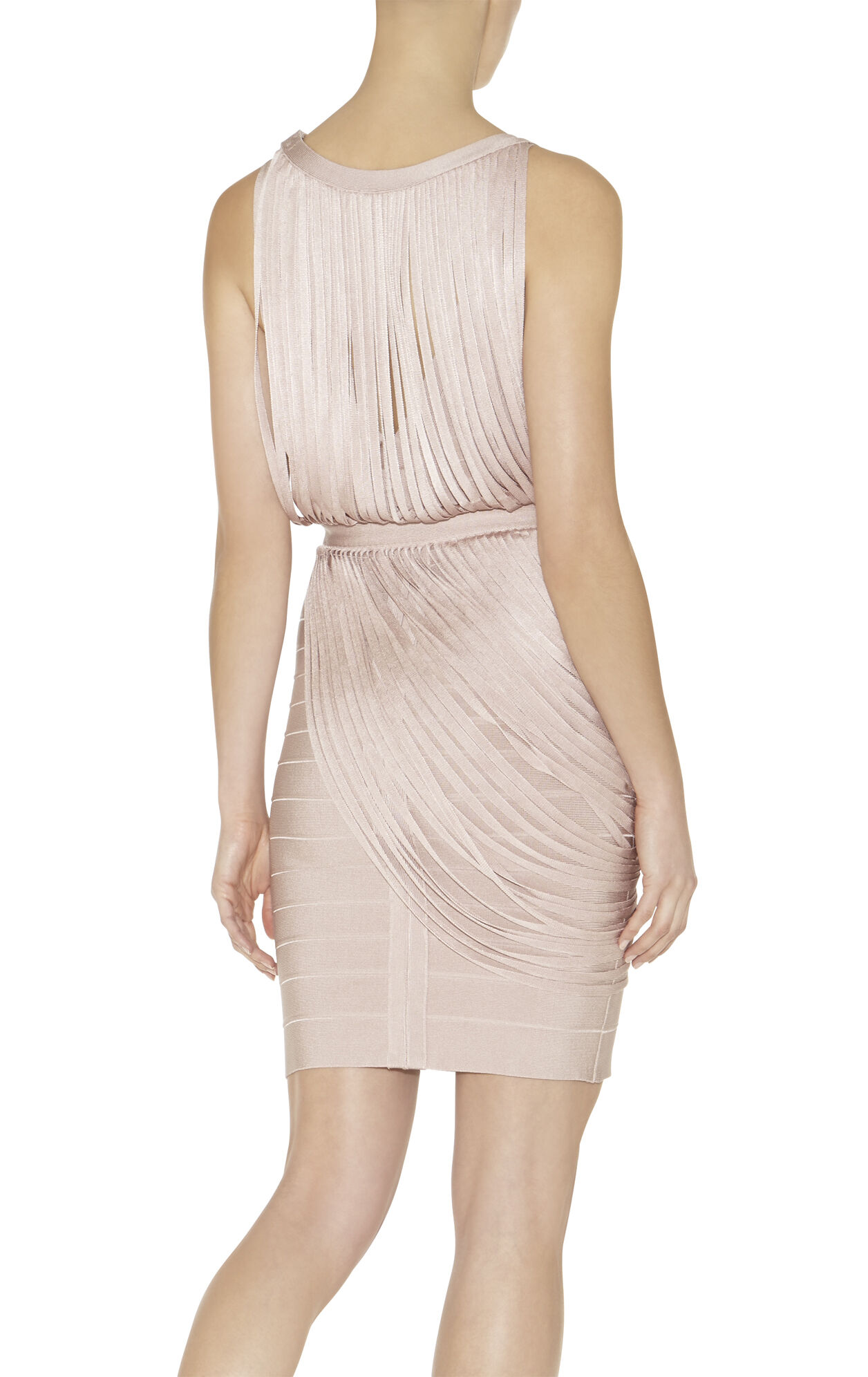 Leilei Draped-Bandage Dress