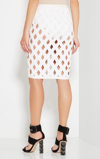 Robyn Overlay Zigzag Skirt