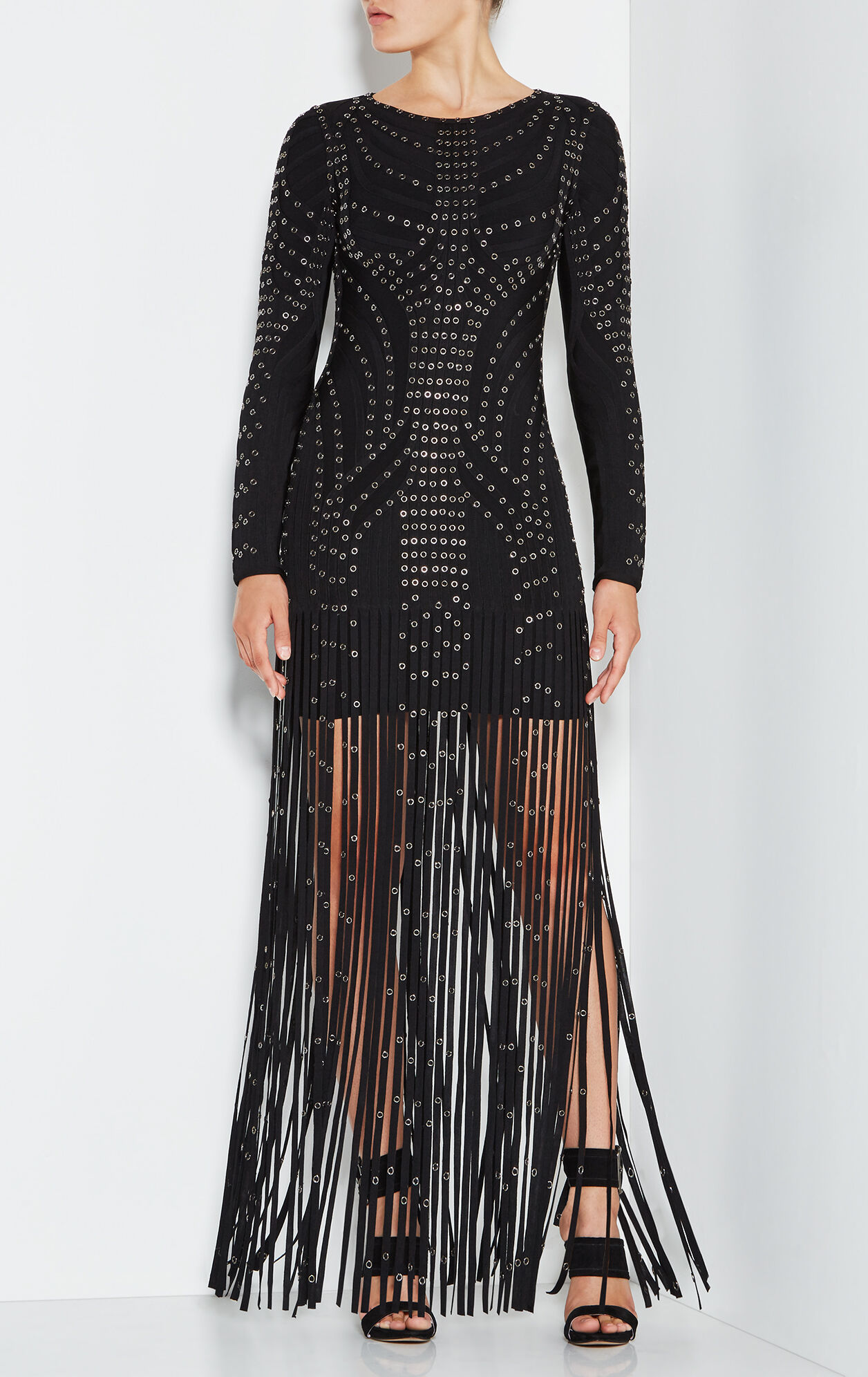 Kadence Eyelet Fringe Dress