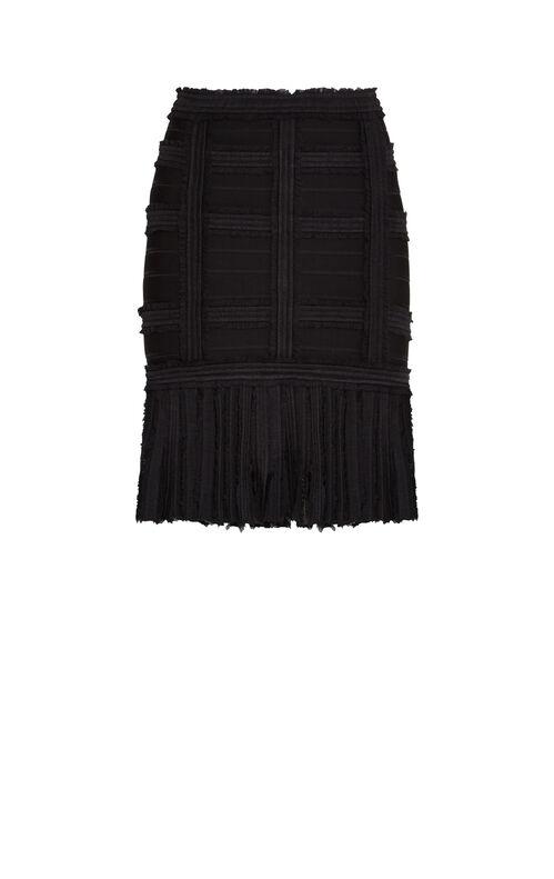Fleur Chiffon Ruching Detail Skirt