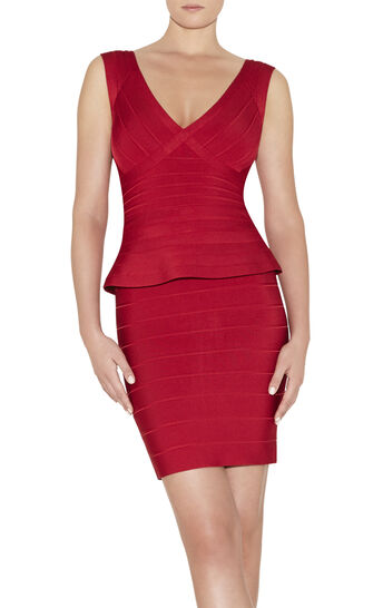 Rebeca Novelty Essentials Bandage Dress