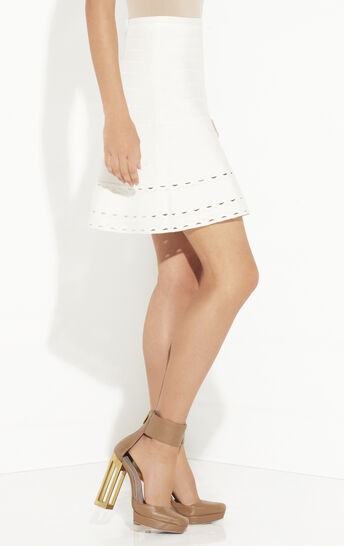 Briella Scallop Embroidered Skirt