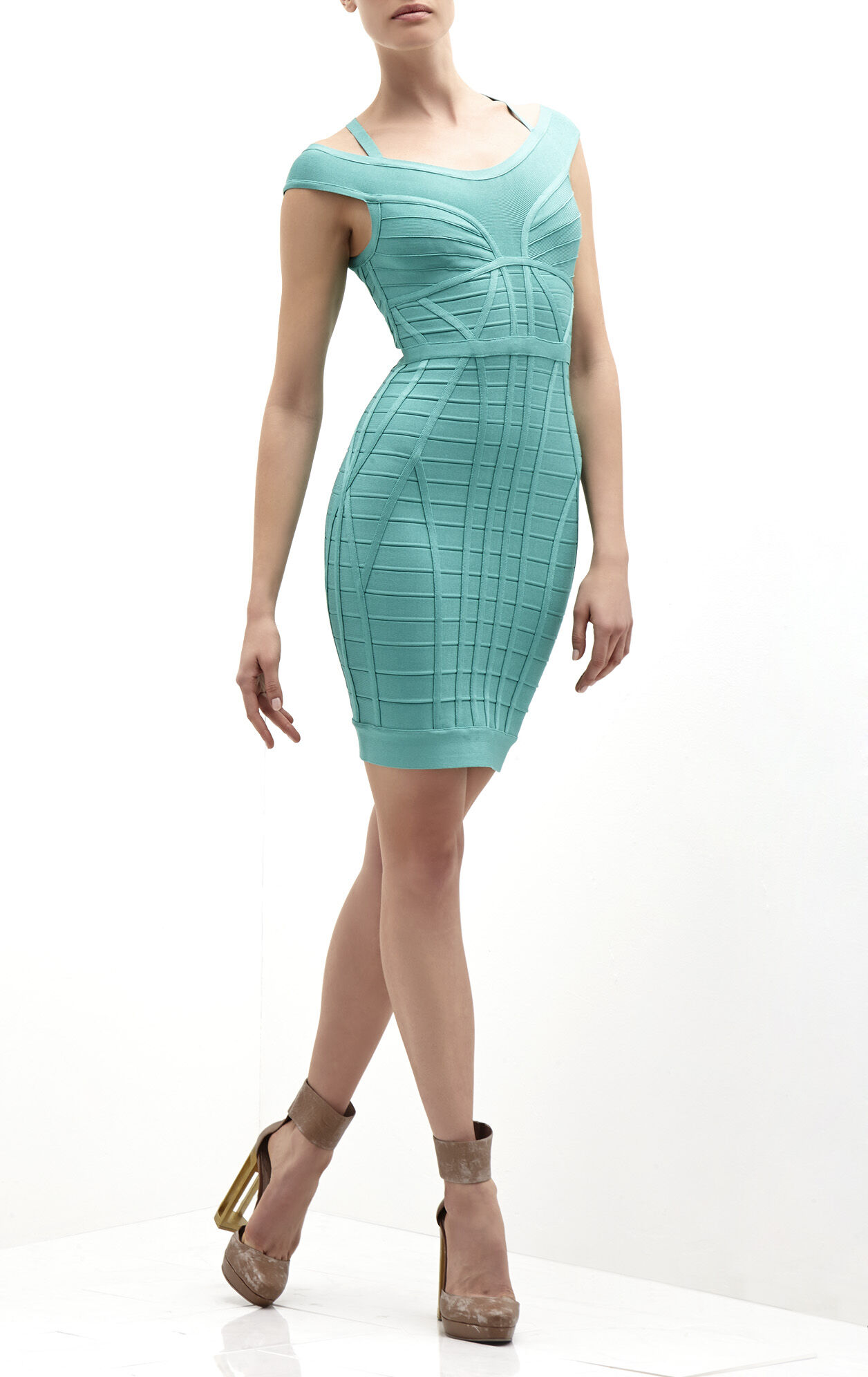 Connie Novelty Essentials Bandage Dress