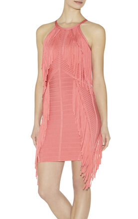 Metzi Fringe-Detail Dress