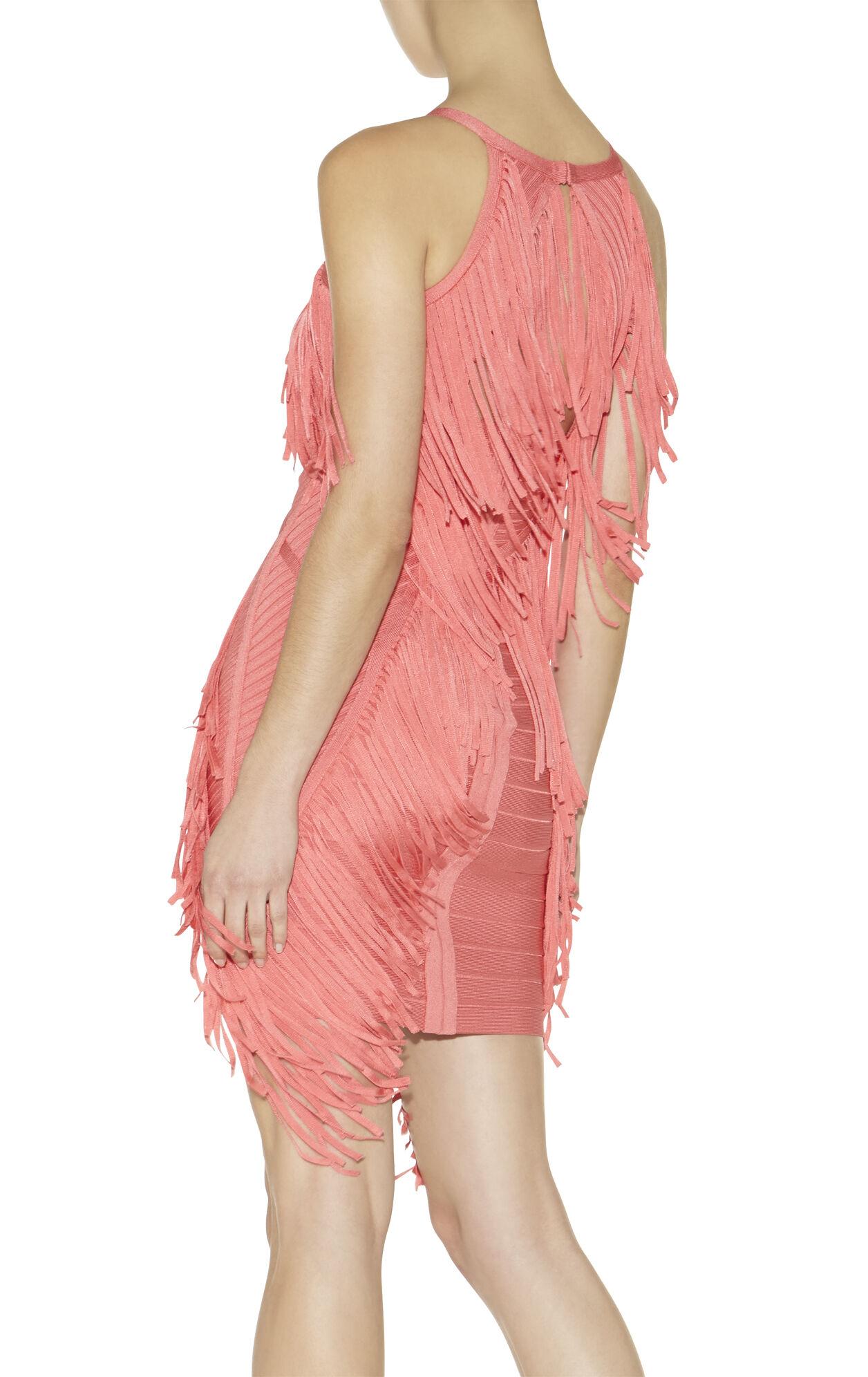 Metzi Fringe-Detail Dress