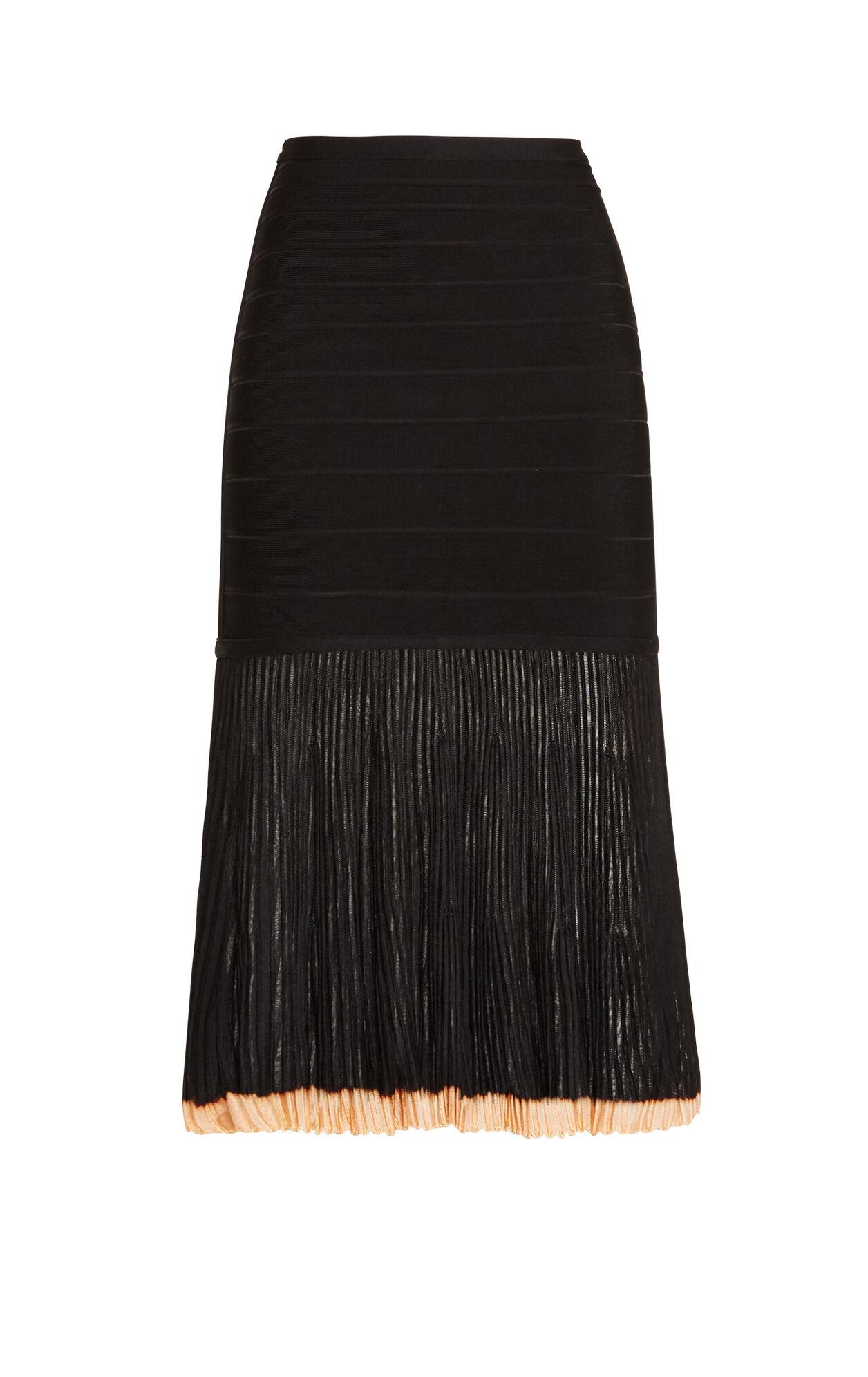 Dilia Pointelle Trimmed Skirt