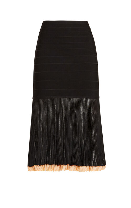 Dilia Pointelle Trimmed Skirt