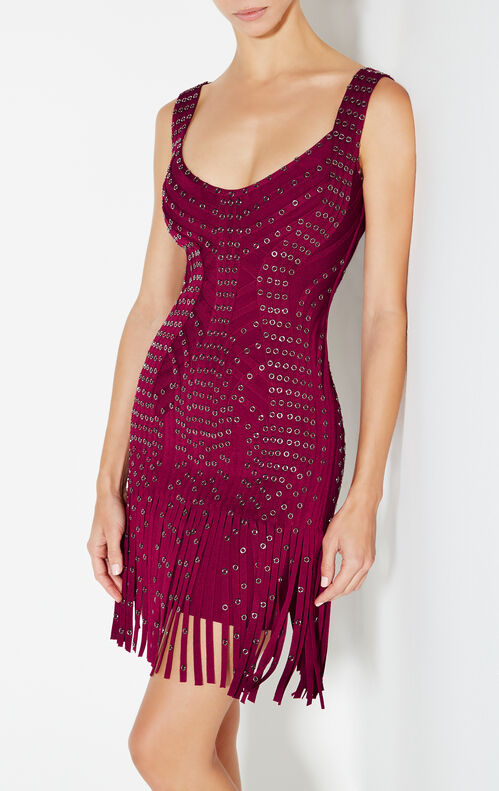 Hayleigh Eyelet Fringe Dress