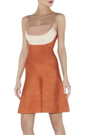 BRITT COLORBLOCKED DRESS