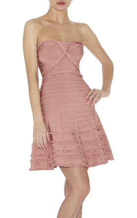 Lilian Tiered-Ruffle Dress