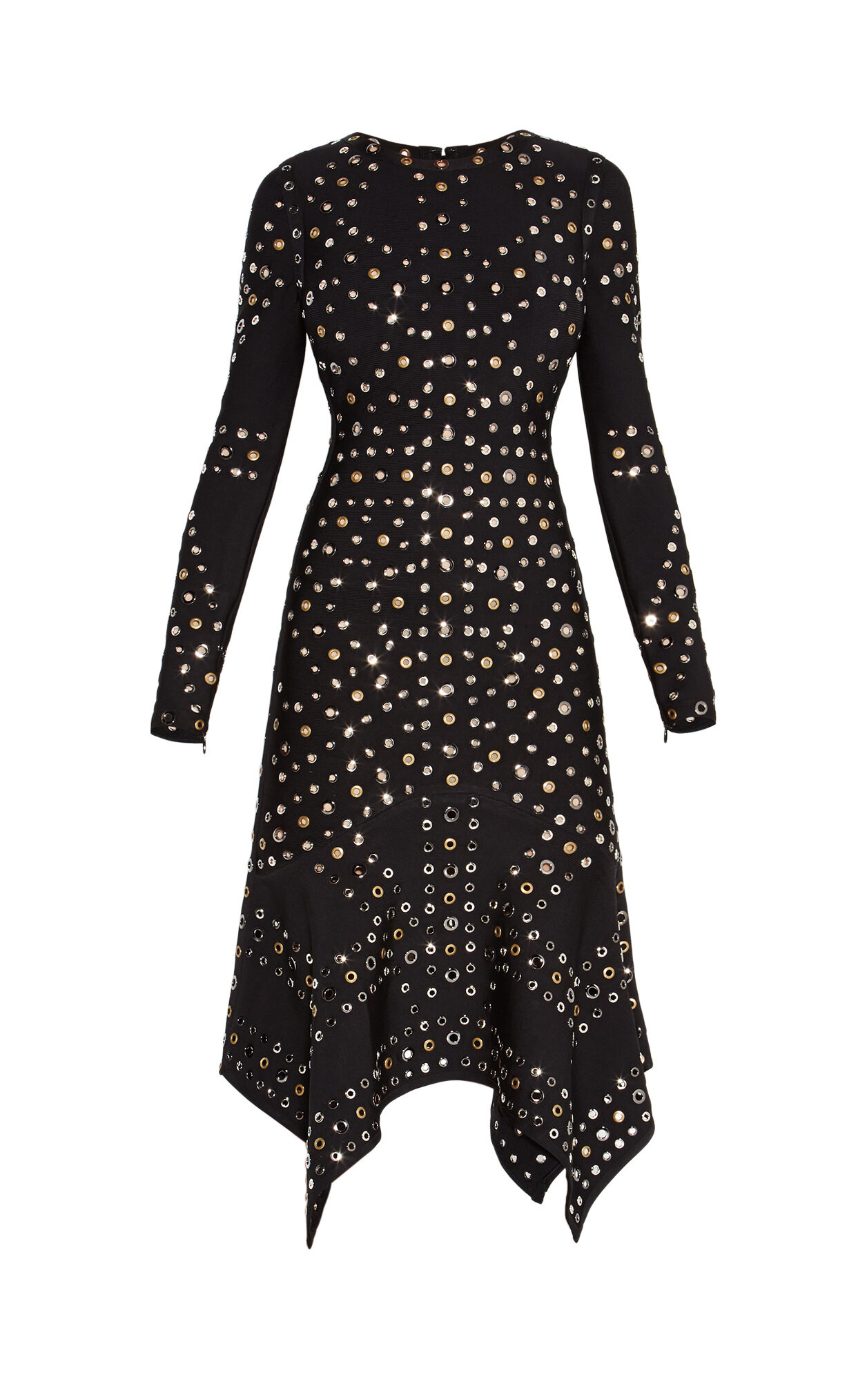 Lizette Engineered Eyelet Dress