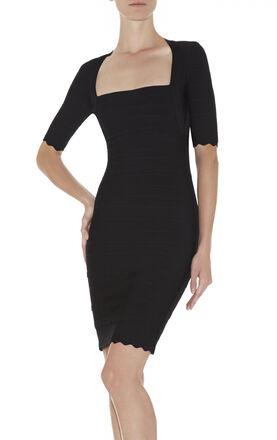 Melissa Scalloped Dress