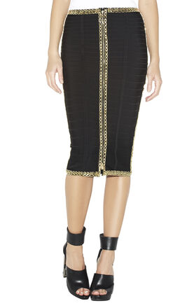 Kenza Chain and Bead Detailed Skirt
