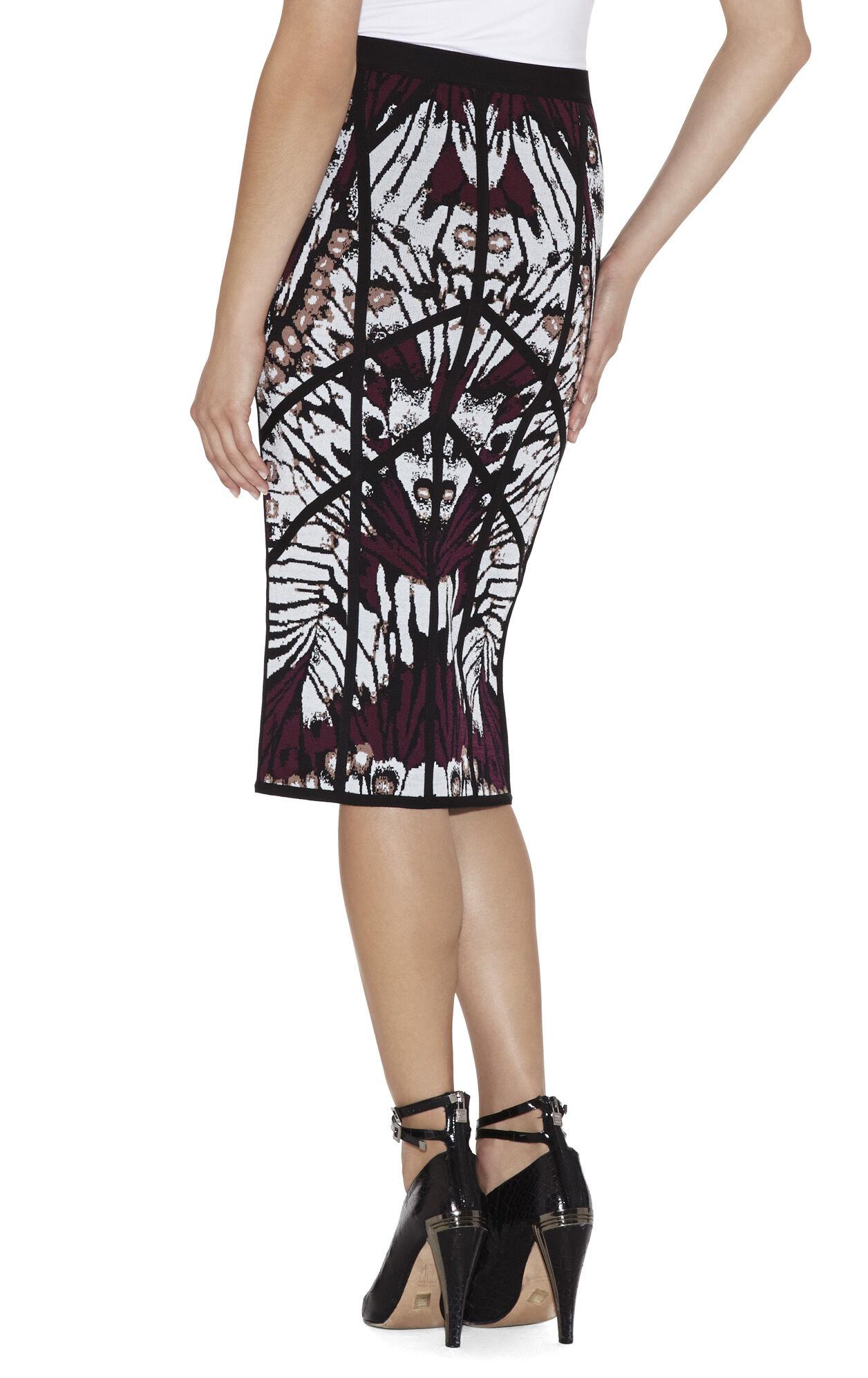 Rhea Butterfly Jacquard Skirt