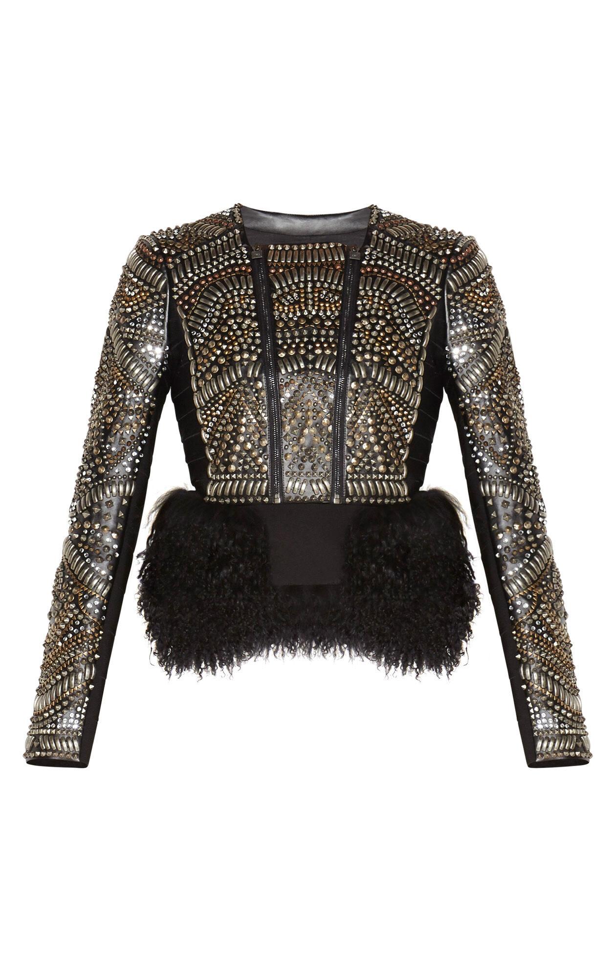 Raquella Multi-Studded Jacket