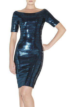 Carmen Sequined Dress