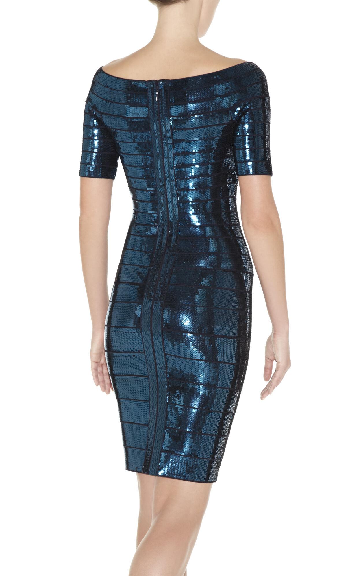 Carmen Sequined Dress