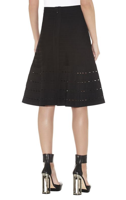 Nicola Eyelet-Detail Skirt