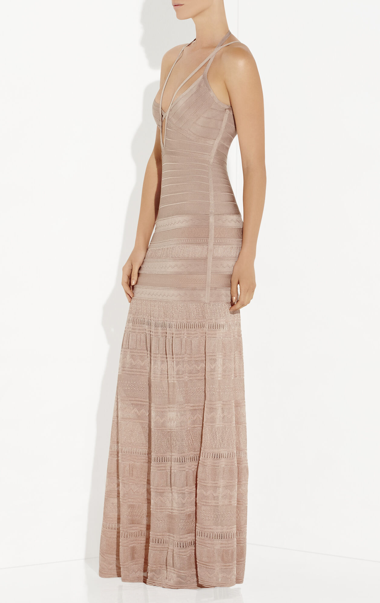 Vyvien Pointelle Bandage Gown