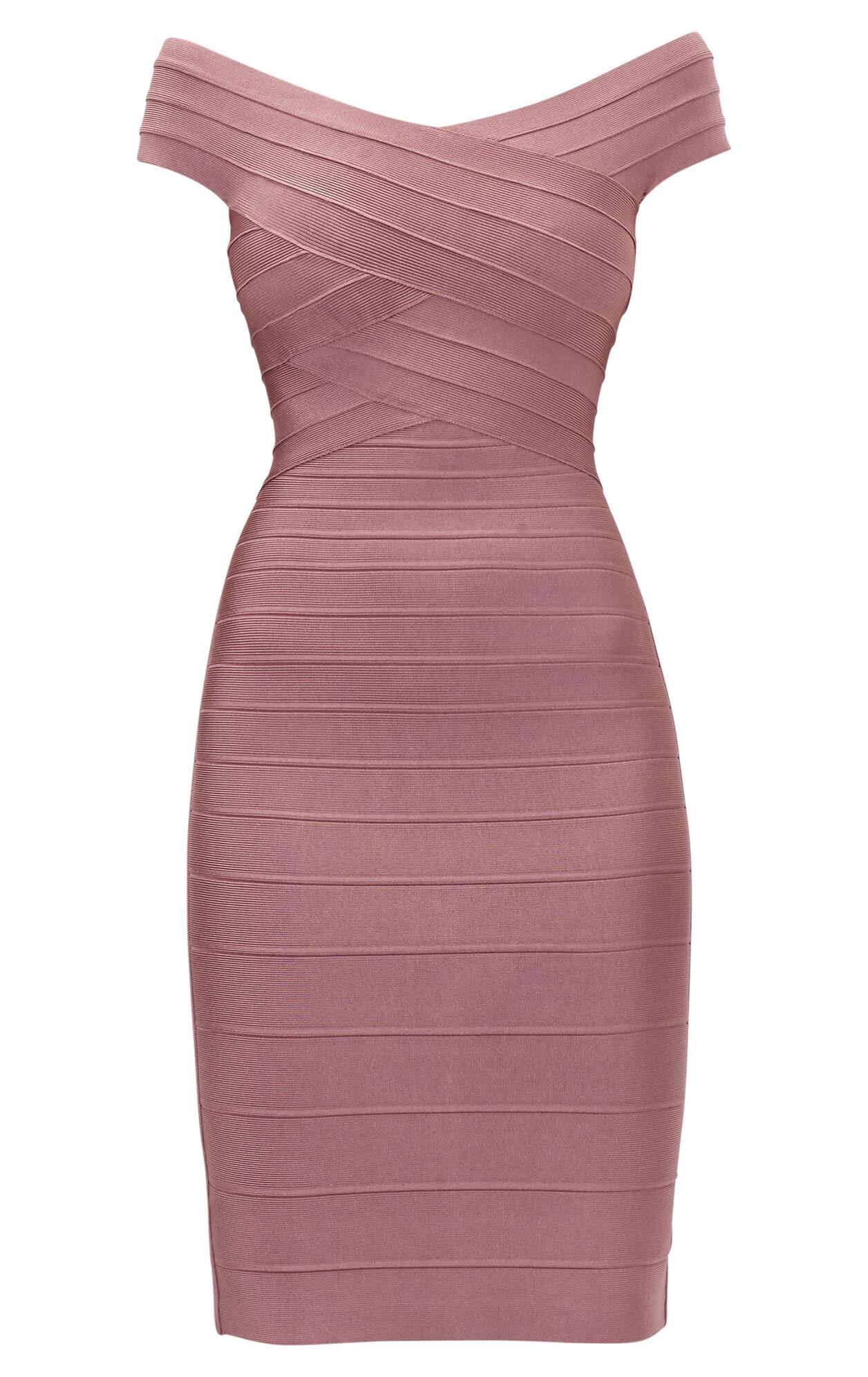 Tayler Novelty Essentials Bandage Dress