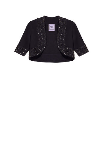 Evolyn Allover Beading Pearls Jacket