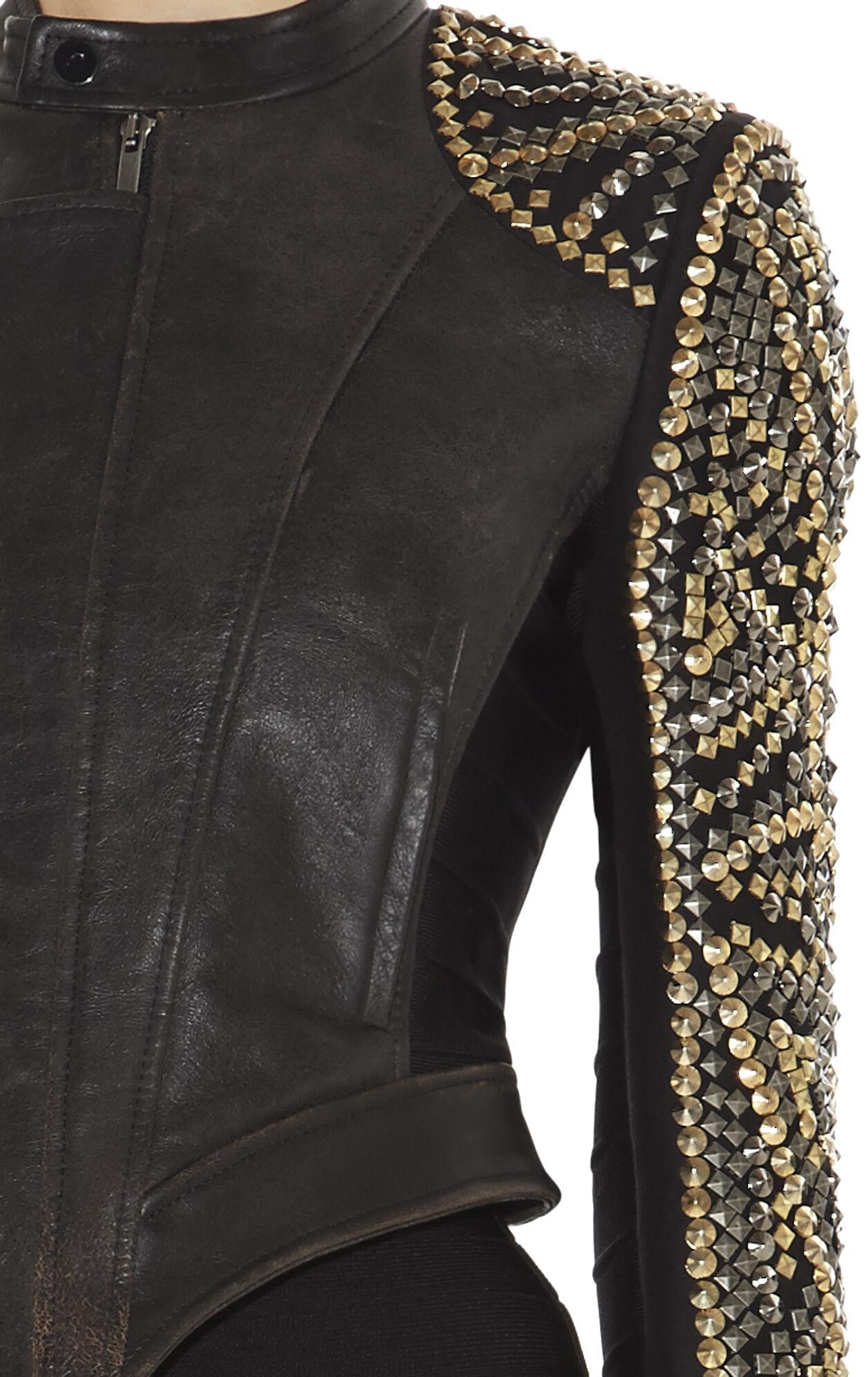 Devon Studded Leather Jacket
