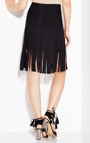 Haylen Draped Bandage Skirt