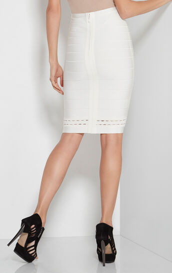 Angela Ottoman Cutout Skirt