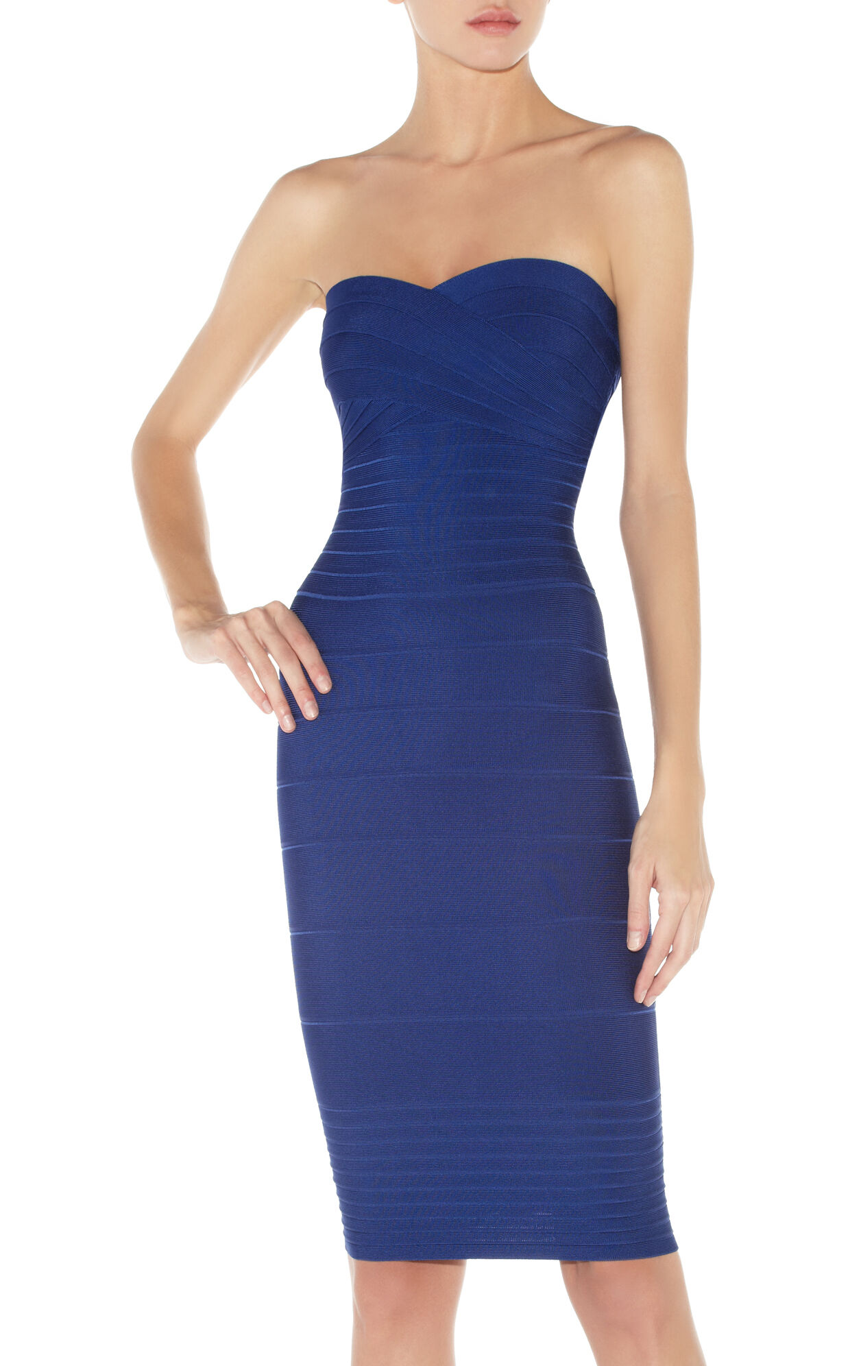 Nazik Signature Strapless Bandage Dress