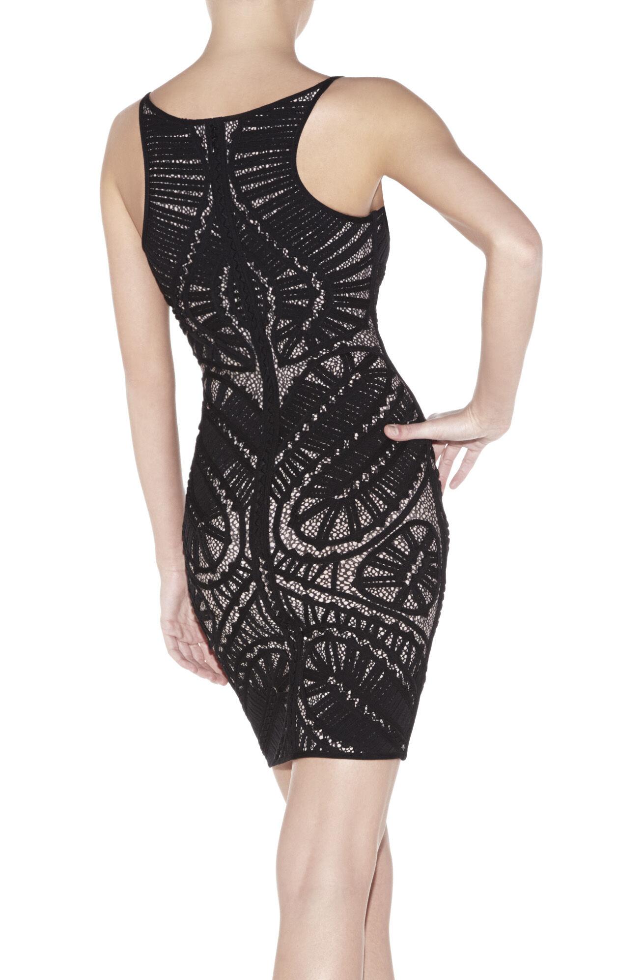 Imari Multi-Mixed Applique Dress