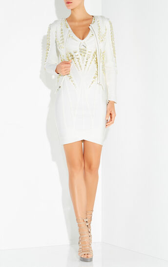 Vitoria Beaded Asymmetrical Jacket