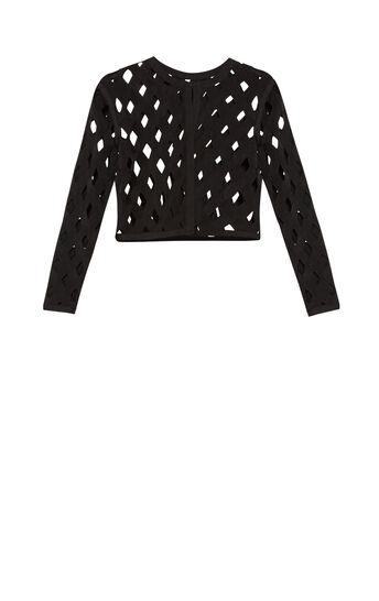 Illena Overlay Zigzag Jacket