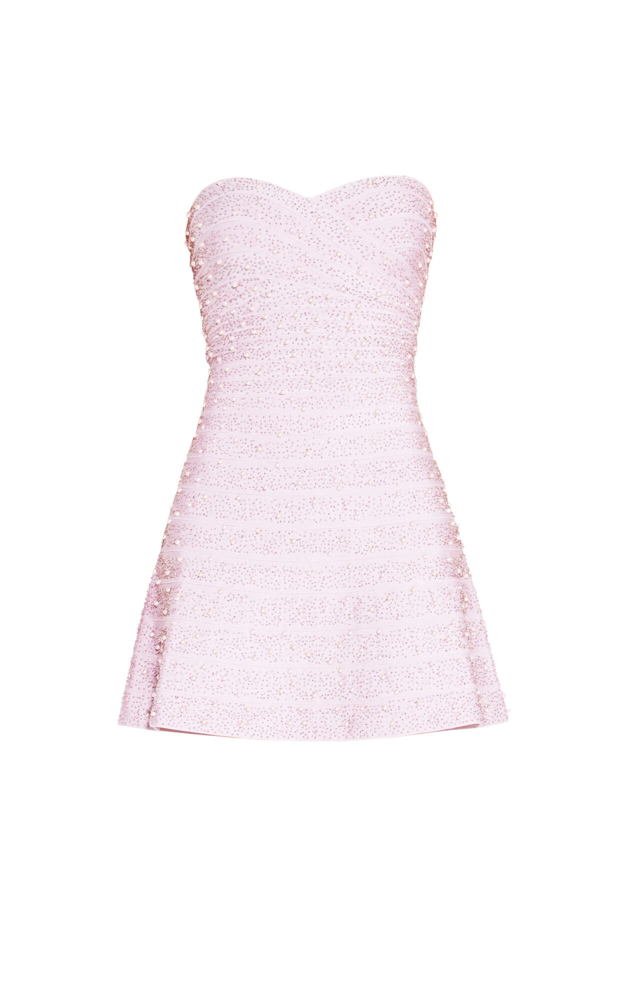 Nova Allover Beading Pearls Dress