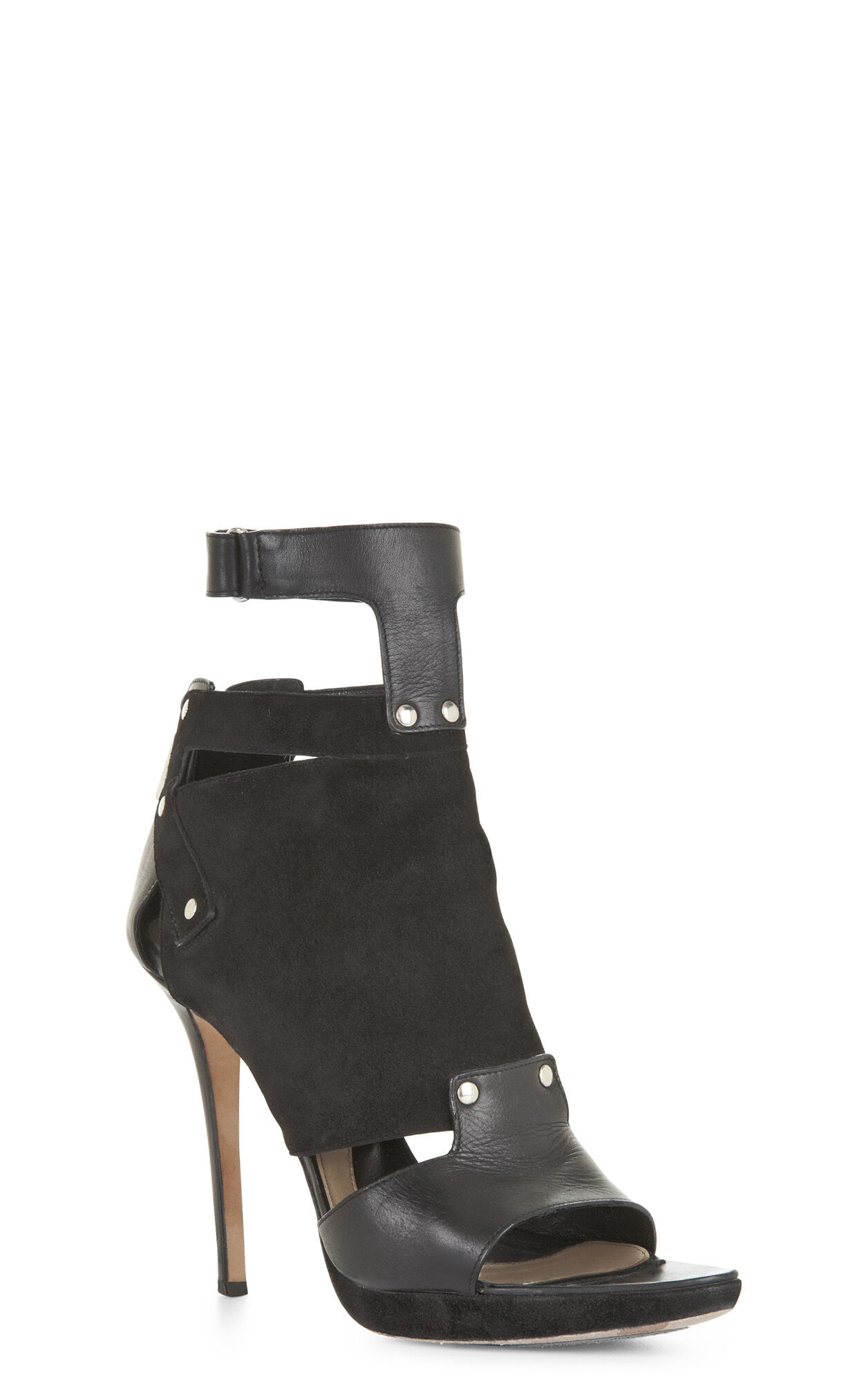 Halia Multipiece Leather Bootie