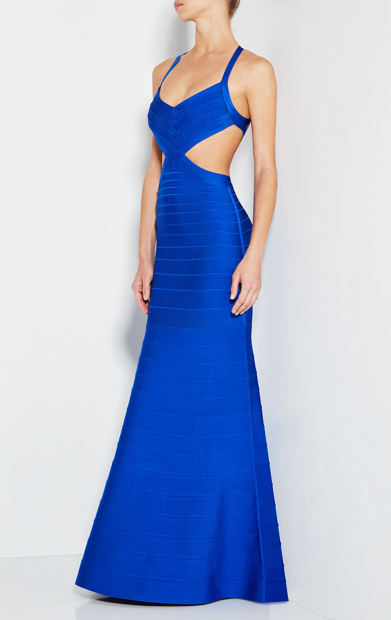 Marcella Cutout Bandage Gown